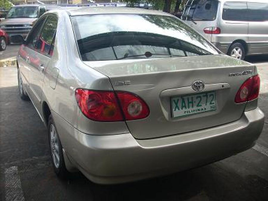 2001 Toyota Corolla Altis E - Rear View