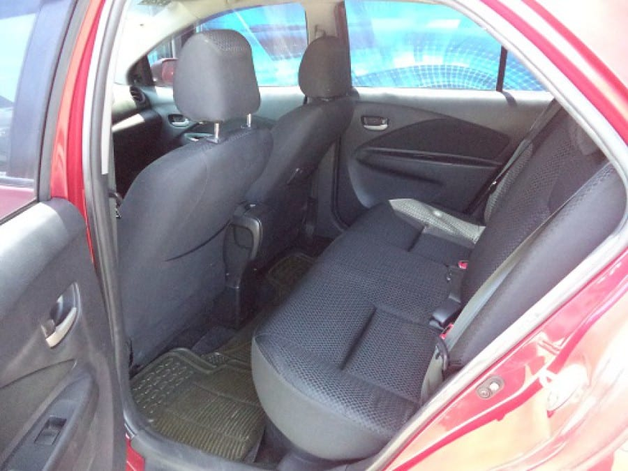 2009 Toyota Vios - Interior Rear View