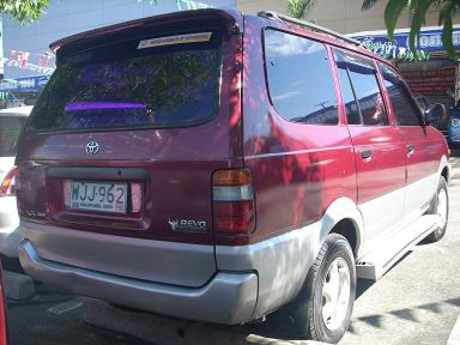 1999 Toyota Revo - Rear View