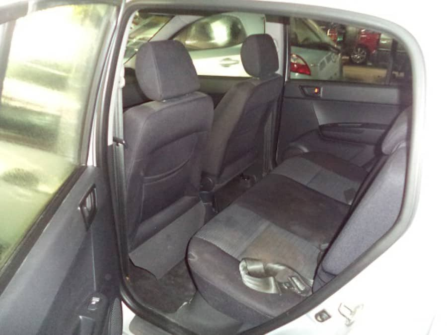 2011 Hyundai Getz - Interior Rear View