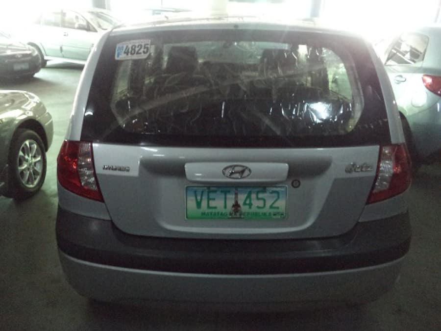 2011 Hyundai Getz - Rear View