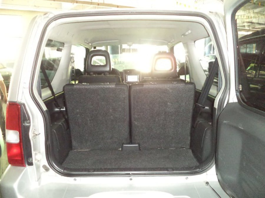 2011 Suzuki Jimny - Interior Rear View