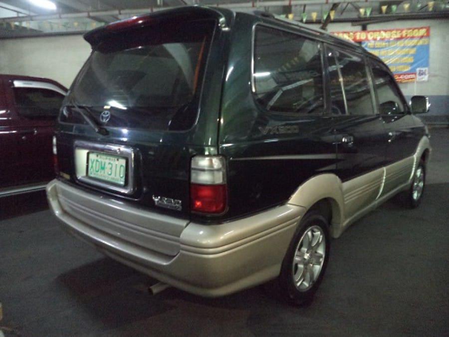 2002 Toyota Revo - Rear View