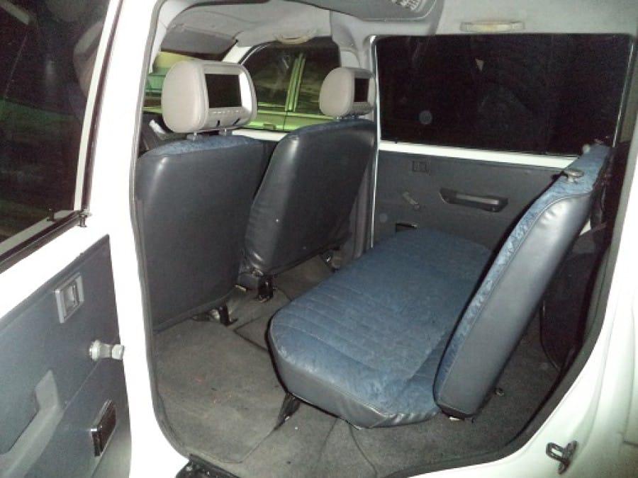 2002 Mitsubishi Adventure - Interior Rear View