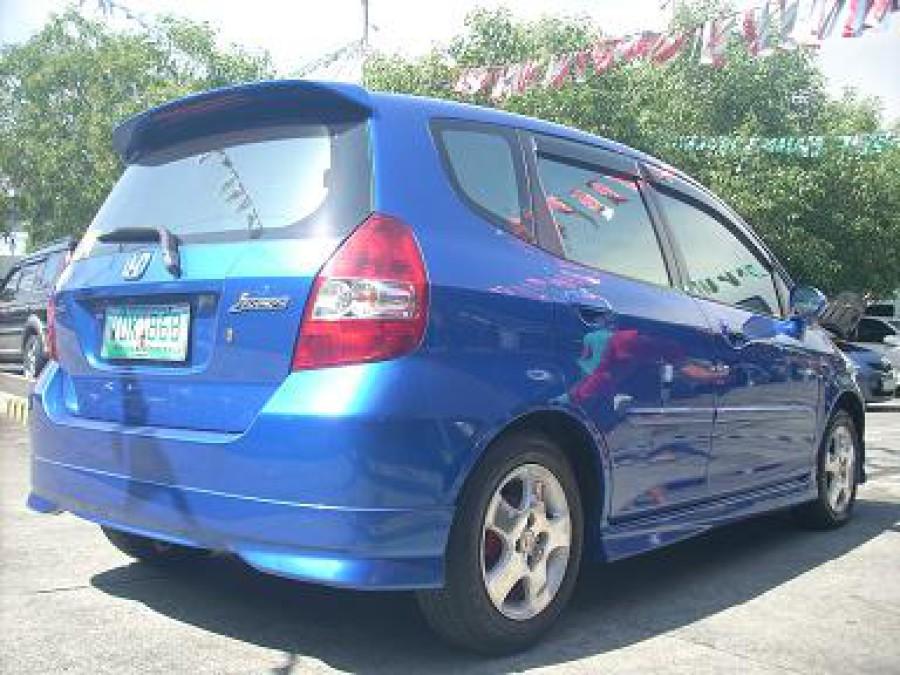 2005 Honda Jazz - Rear View