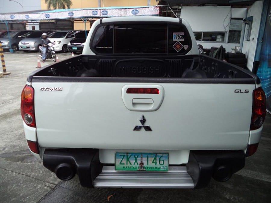 2007 Mitsubishi Strada - Rear View
