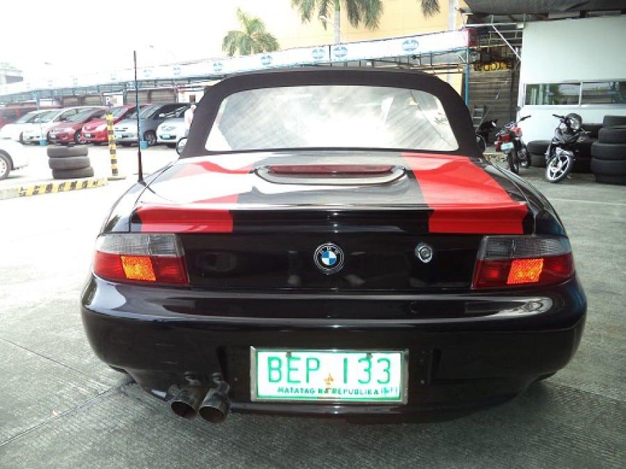 1998 BMW Z3 - Rear View