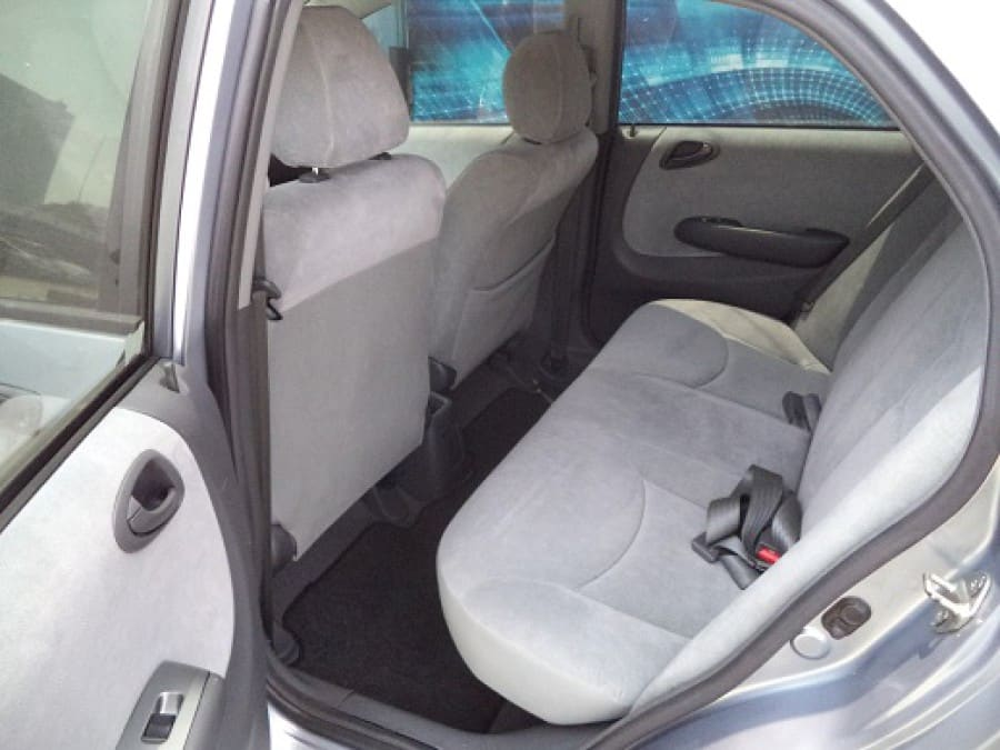 2008 Honda City - Interior Rear View