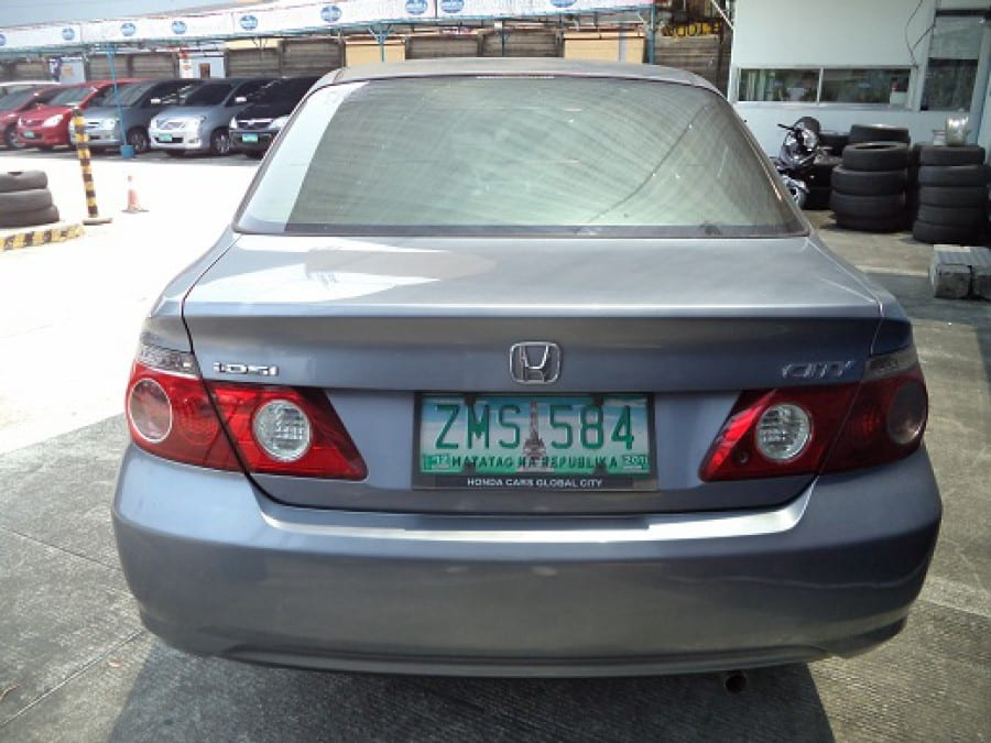 2008 Honda City - Rear View