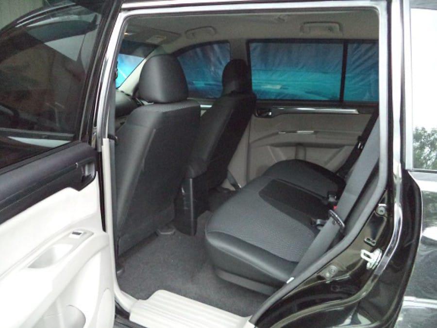 2014 Mitsubishi Montero Sport - Interior Rear View