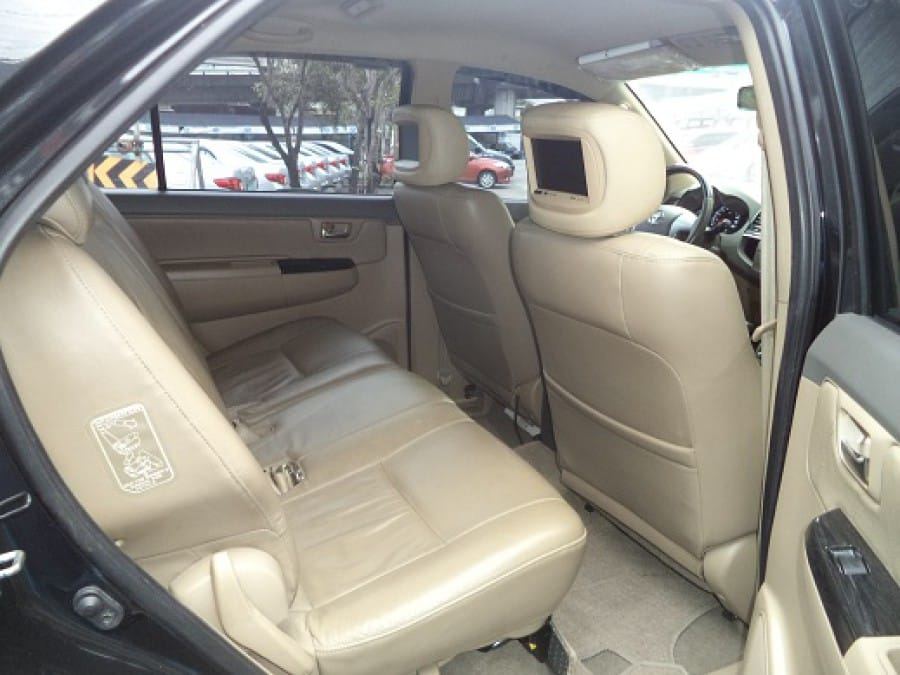 2012 Toyota Fortuner - Interior Rear View