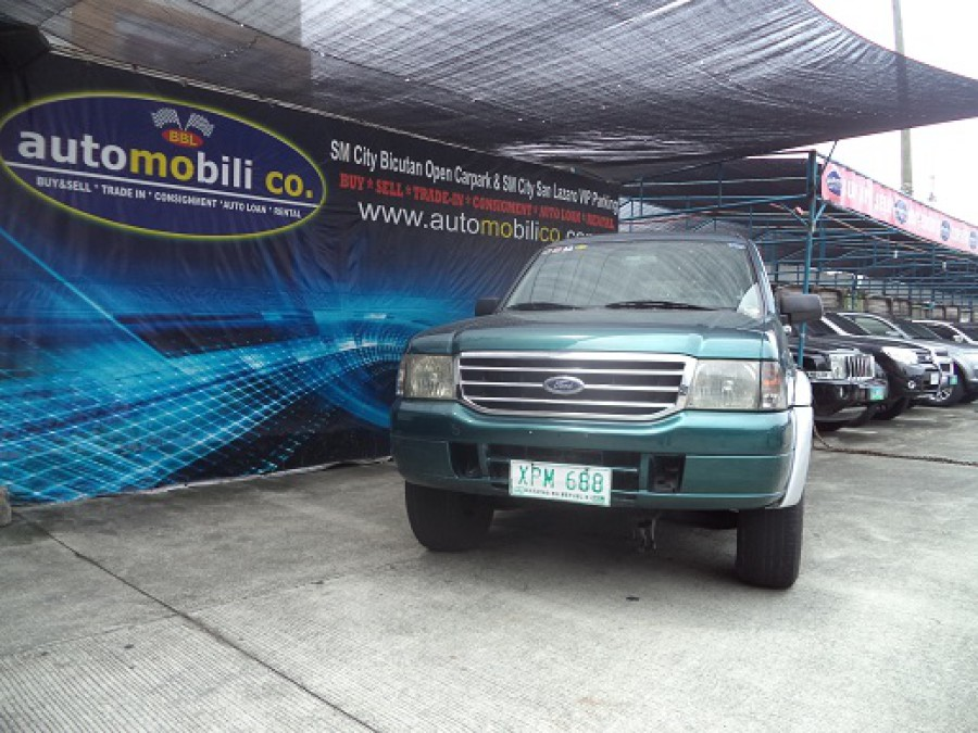 2004 Ford Everest - Front View