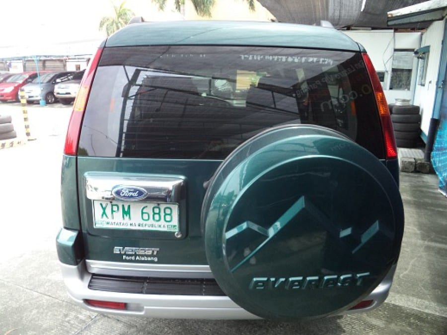2004 Ford Everest - Rear View