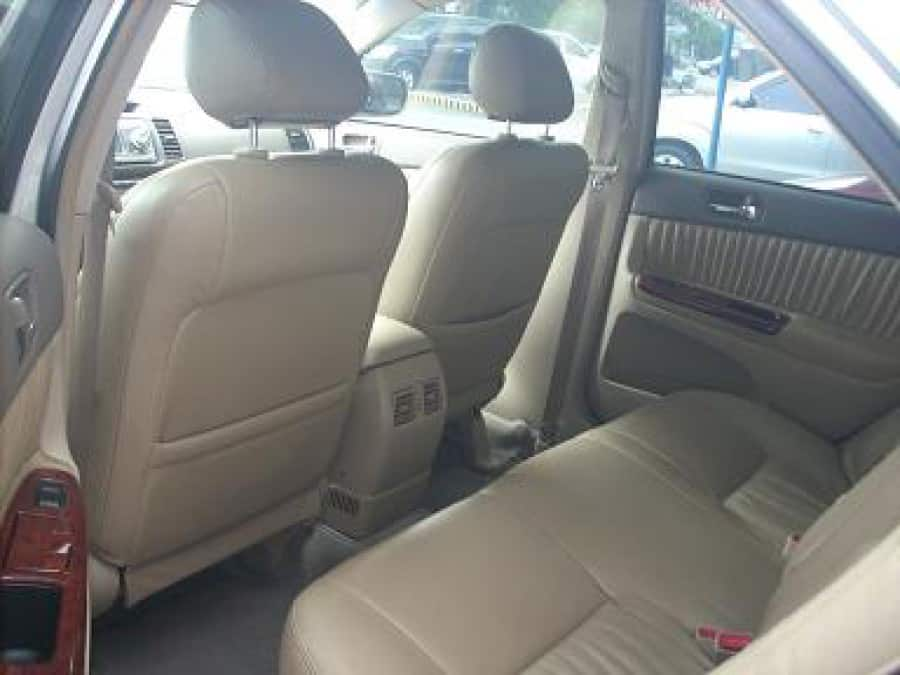 2002 Toyota Camry - Interior Rear View