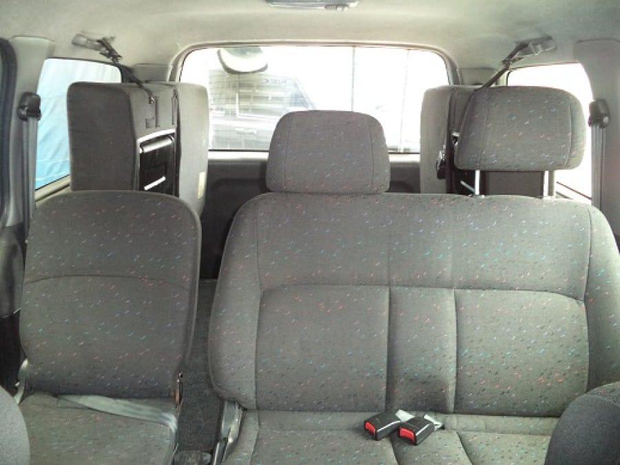 2001 Hyundai Starex - Interior Rear View