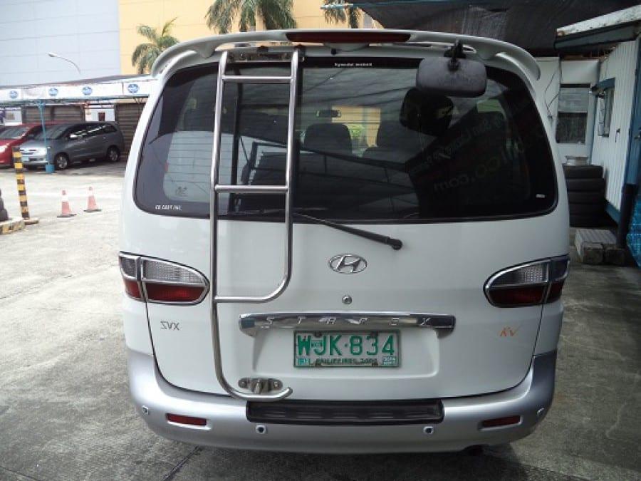 2001 Hyundai Starex - Rear View