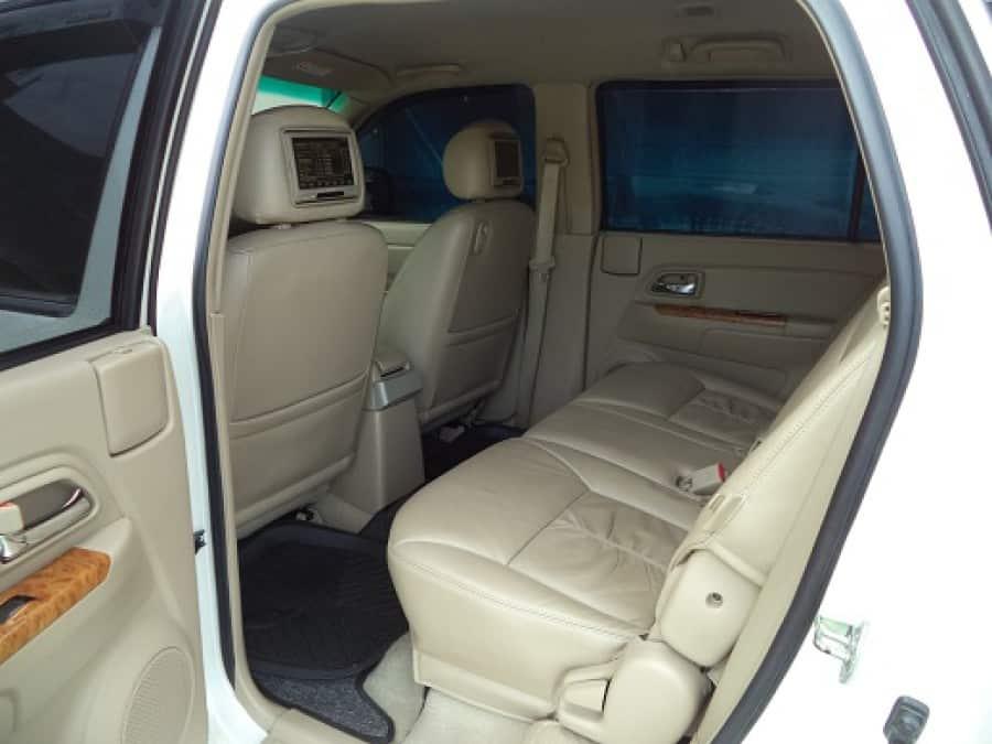 2011 Isuzu Alterra - Interior Rear View