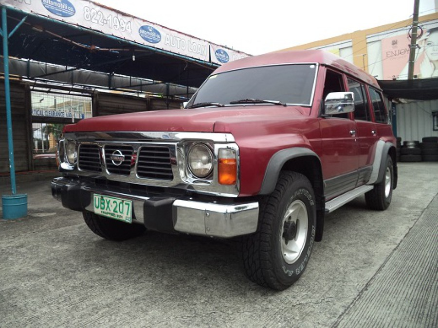1996 Nissan Patrol - Front View