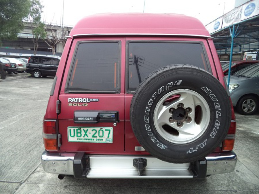 1996 Nissan Patrol - Rear View