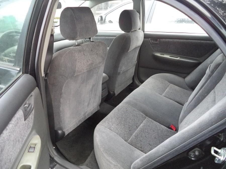 2007 Toyota Corolla Altis E - Interior Rear View