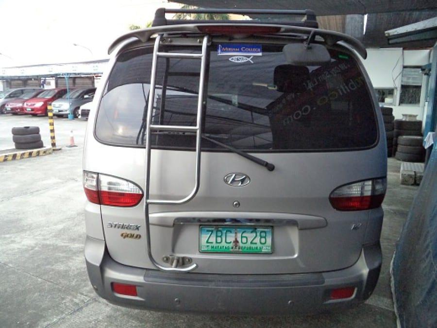 2005 Hyundai Starex - Rear View