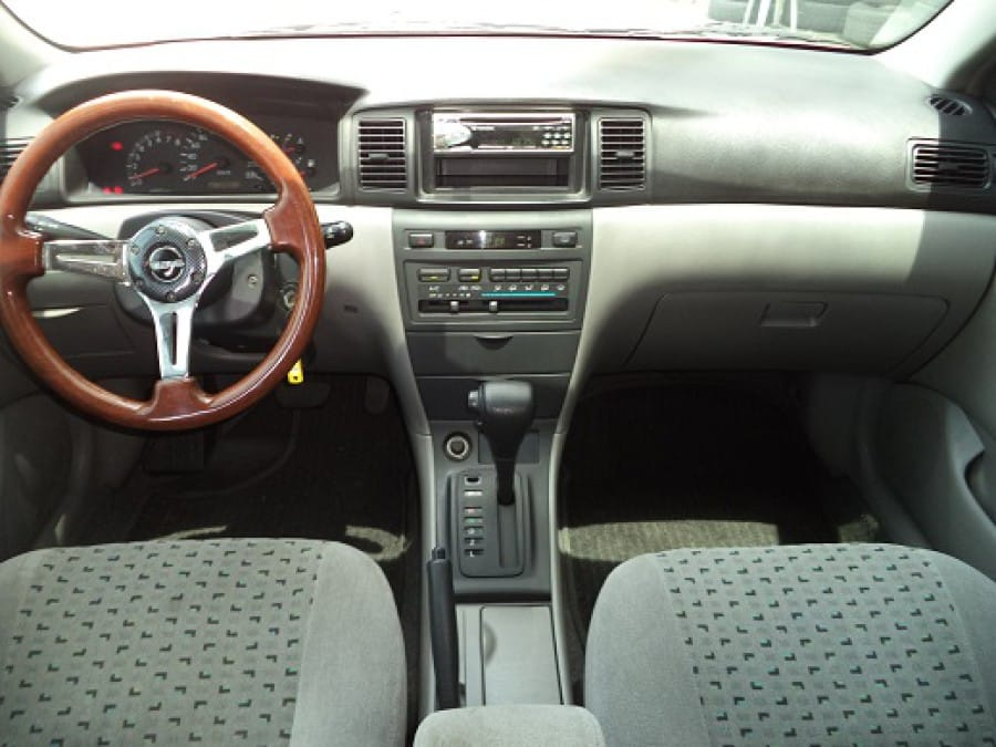 2002 Toyota Corolla Altis E - Interior Front View