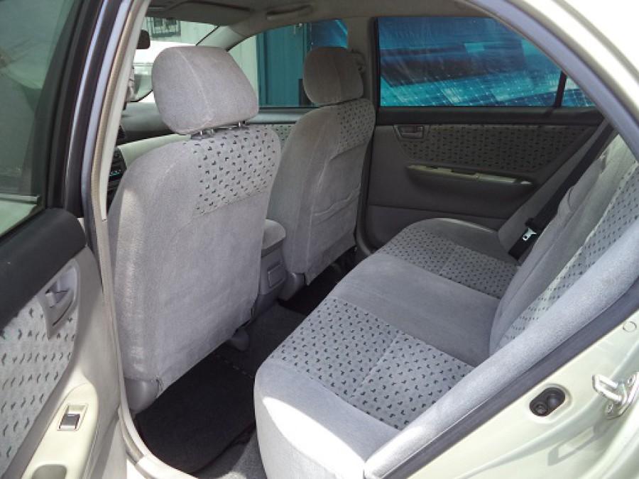 2002 Toyota Corolla Altis E - Interior Rear View