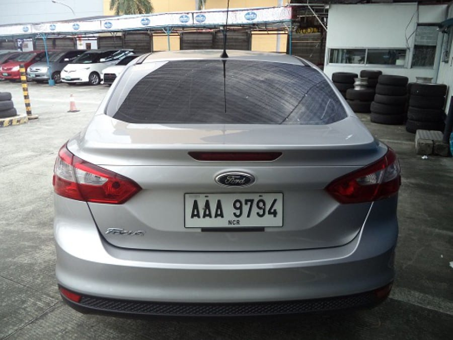 2014 Ford Focus - Rear View