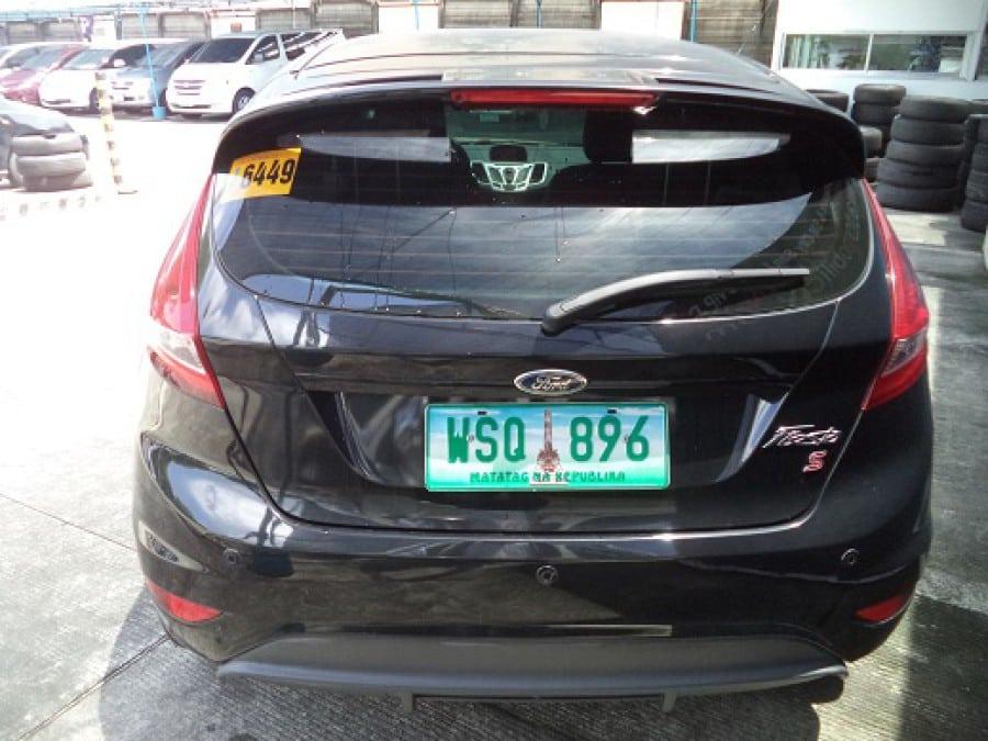 2013 Ford Fiesta - Rear View