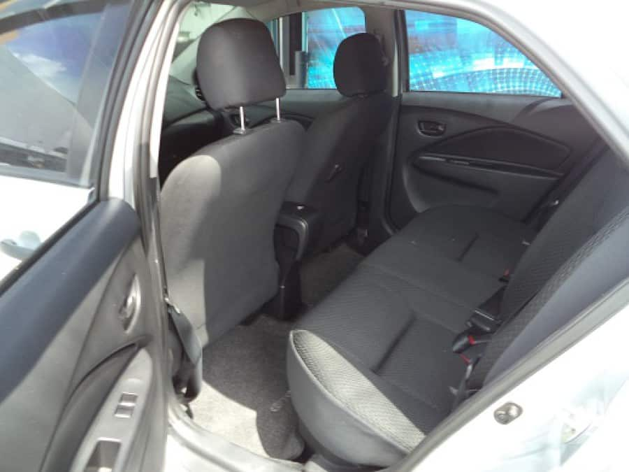 2012 Toyota Vios - Interior Rear View