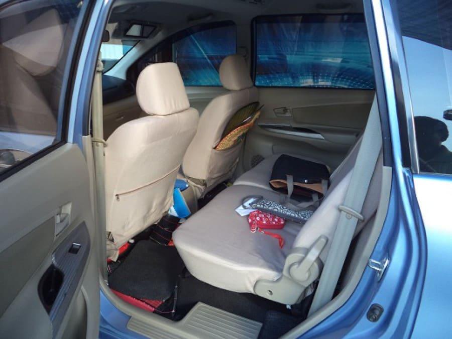 2012 Toyota Avanza - Interior Rear View