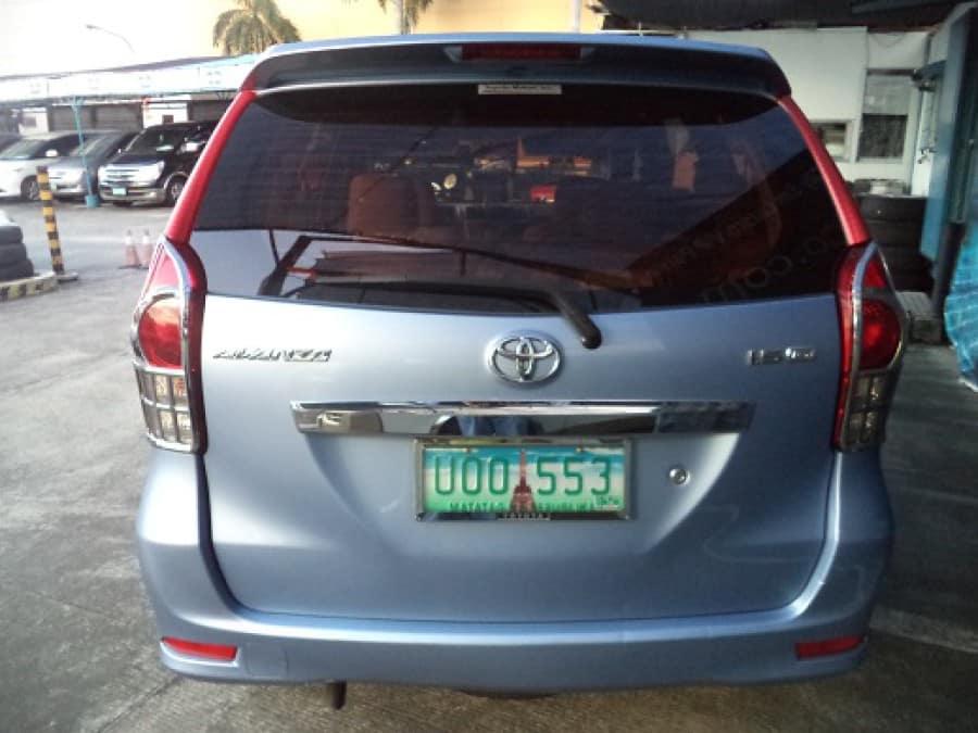 2012 Toyota Avanza - Rear View
