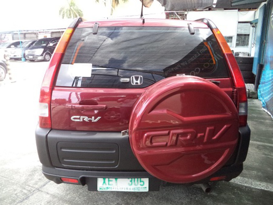 2002 Honda CR-V - Rear View