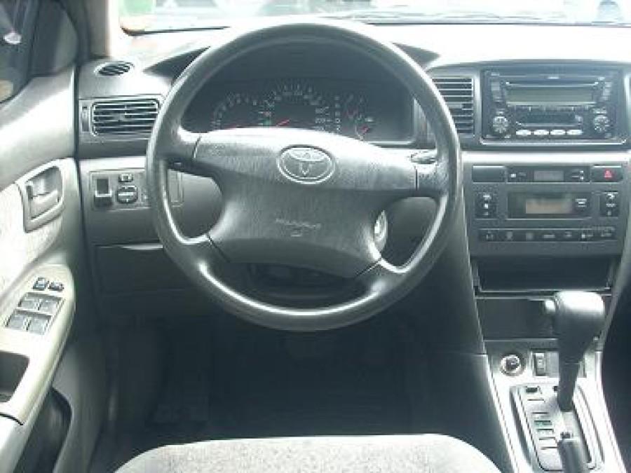 2005 Toyota Corolla Altis E - Interior Front View