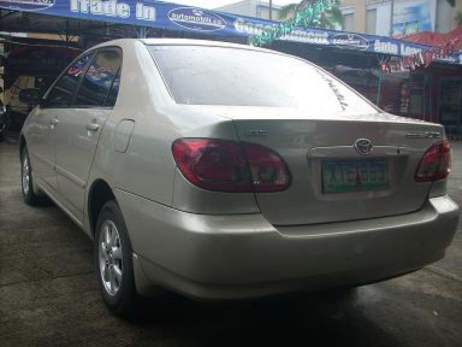2005 Toyota Corolla Altis E - Rear View