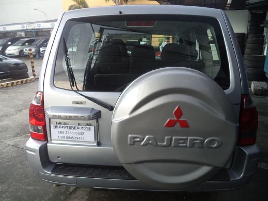 2007 Mitsubishi Pajero - Rear View