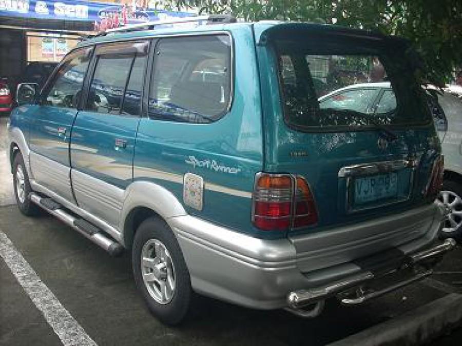 2000 Toyota Revo - Rear View