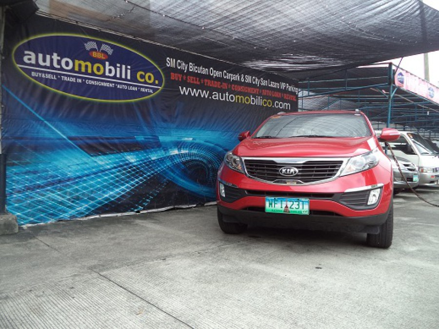 2013 Kia Sportage - Front View
