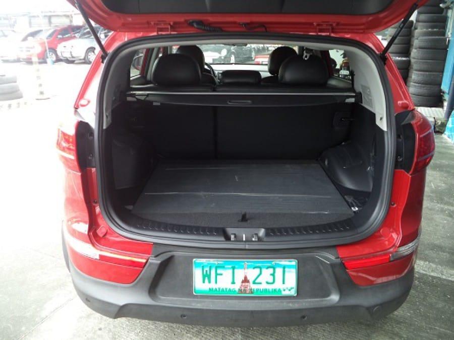 2013 Kia Sportage - Interior Rear View