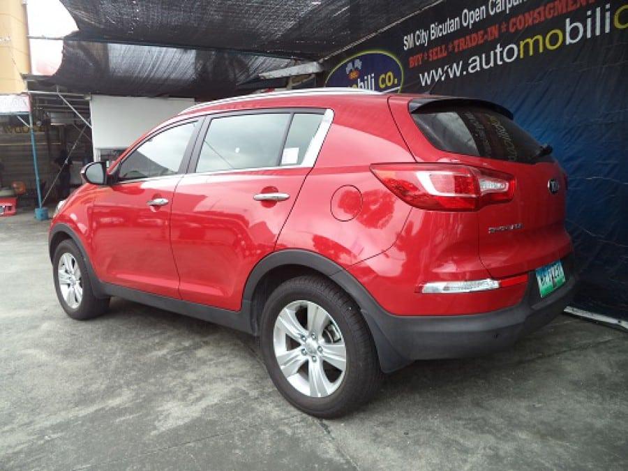 2013 Kia Sportage - Rear View