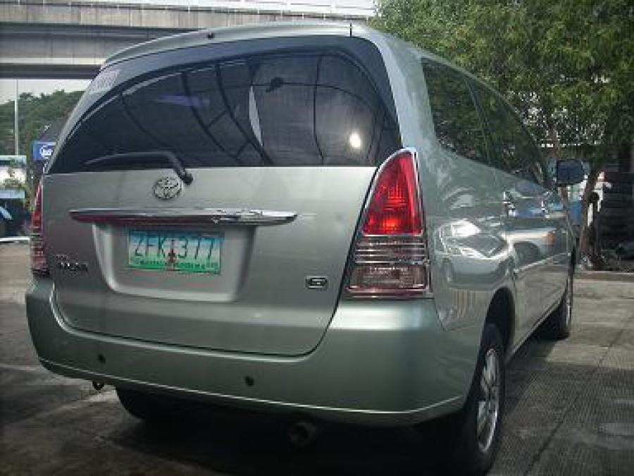 2006 Toyota Innova G - Rear View