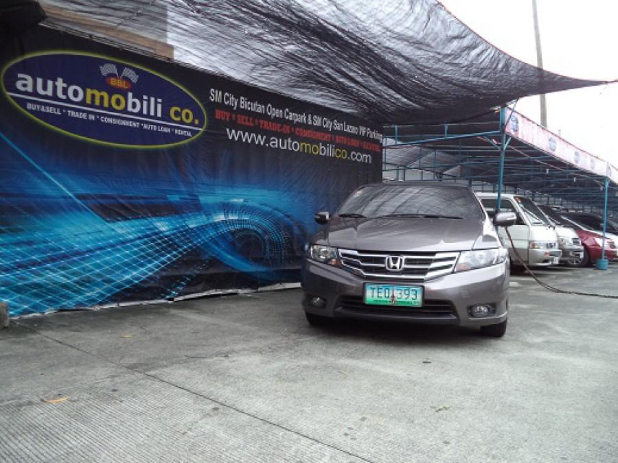 2012 Honda City E - Front View
