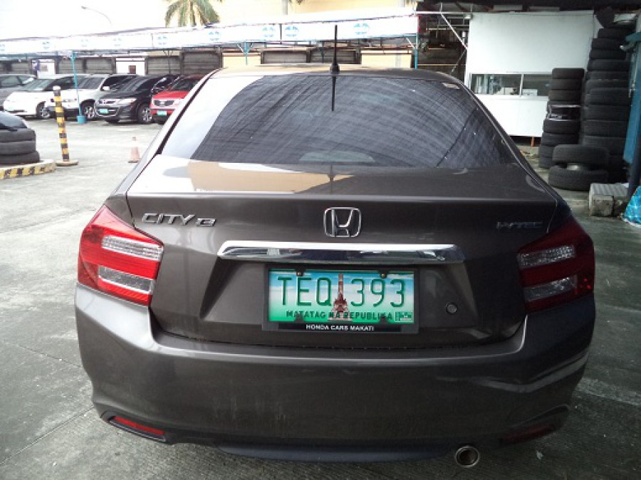 2012 Honda City E - Rear View