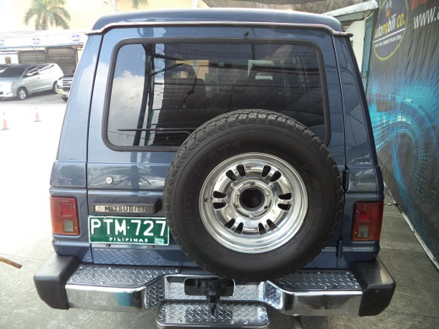 1989 Mitsubishi Pajero - Rear View