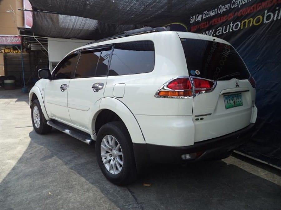 2009 Mitsubishi Montero Sport - Rear View