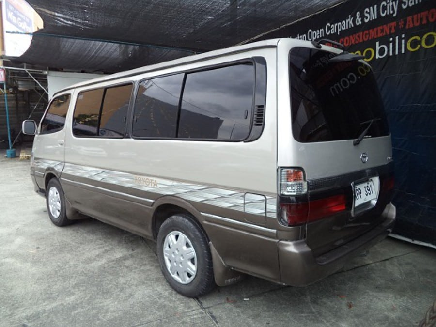 2004 Toyota HiAce - Rear View