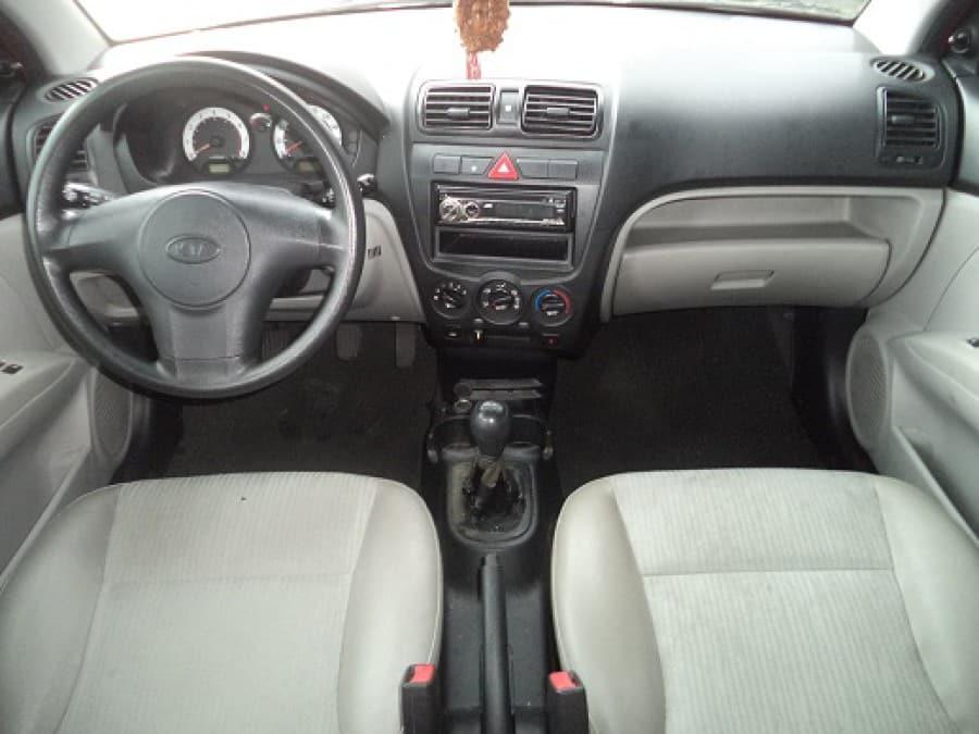 2008 Kia Picanto - Interior Front View