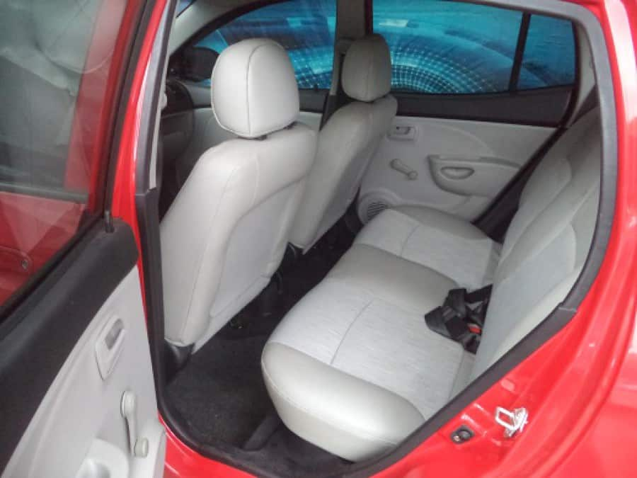 2008 Kia Picanto - Interior Rear View