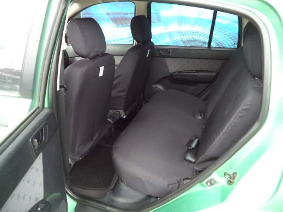 2005 Hyundai Getz - Interior Rear View