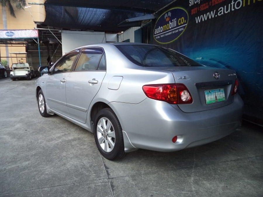 2010 Toyota Altis - Rear View
